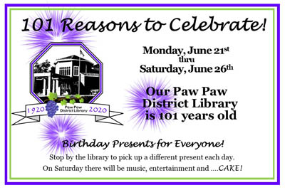 Come celebrate our 101 year anniversary!